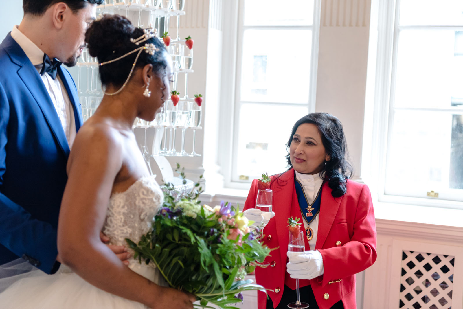 lady toastmaster - luxury wedding