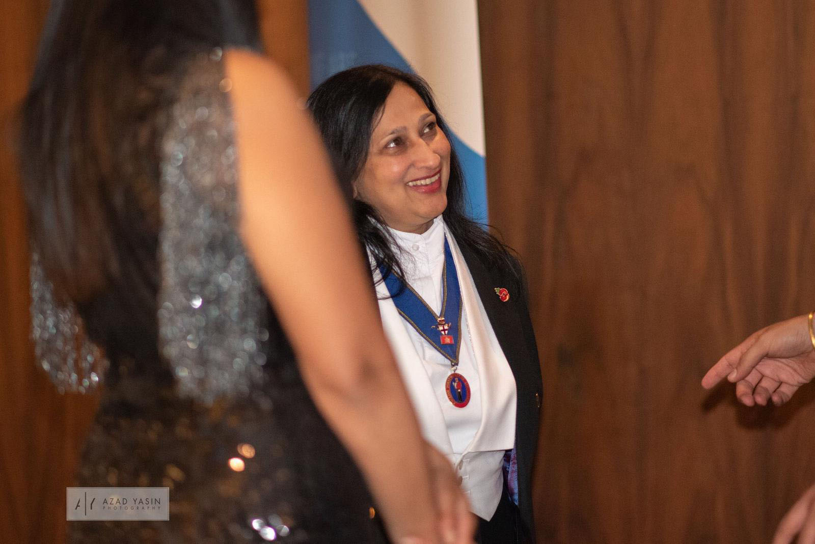 charity event Lady Toastmaster