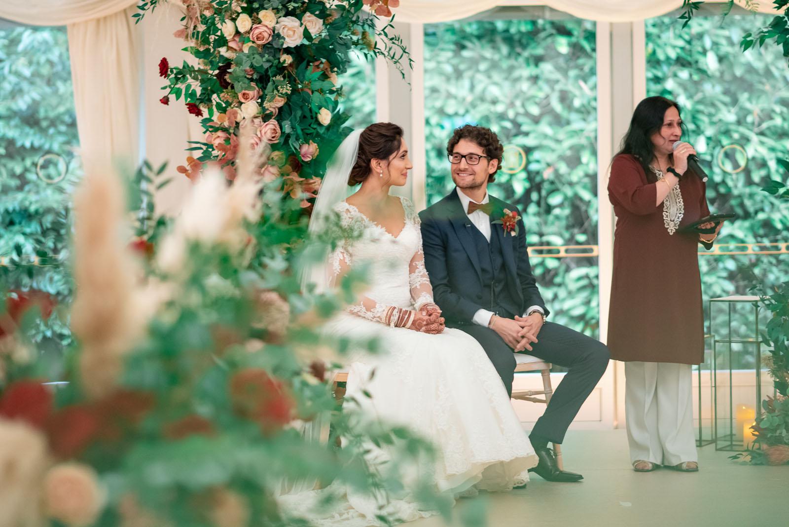 Wedding celebrant London