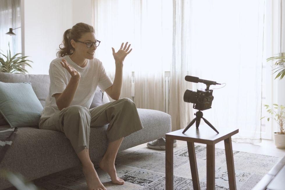 better video content - get comfortable - get confident