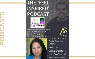 How to Communicate with Confidence – The Feel Inspired Podcast
